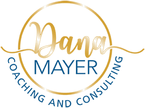 Dana Mayer Coaching & Consulting logo with circle